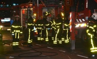 Keukenbrand in portiekwoning Zuiderparklaan