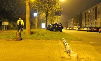 29 april Automobilist komt tot stilstand tegen boom Leiden