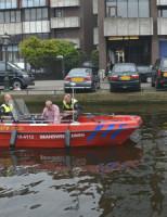 24 april Politie hervat zoektocht met speurhond en sonarapparatuur Leiden