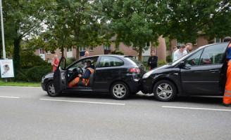 21 september Vier voertuigen betrokken bij kettingbotsing