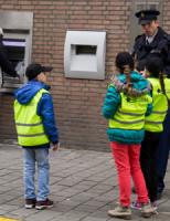 19 februari Politiekids in actie tegen zakkenrollers Vlaardingen