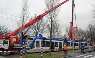 21 januari Kop-staart aanrijding tram versus tram Den Haag