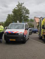 8 mei Achteruit rijdend busje rijd man aan Vlaardingen