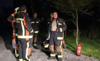 16 oktober Brand in ondergrondse stroomkabel Achterwillenseweg Reeuwijk