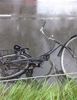 27 mei Aanrijding auto versus fietser Leiden