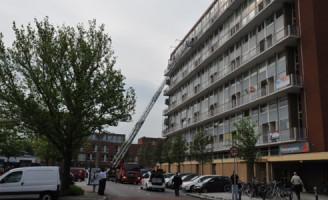 6 mei Brand in flat zorgt voor veel rook Leiden