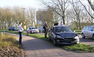 24 maart Aanrijding tussen twee auto's Vlaardingen