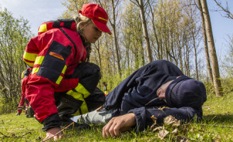 5 april Grote dijkdoorbraak oefening op het water Oostvoorne