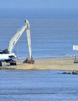 29 januari Zeemijn gevonden op het strand Katwijk