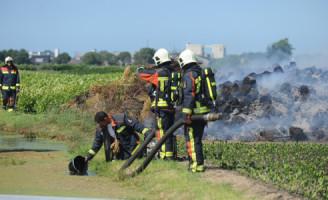 3 augustus Brandweer blust buitenbrand
