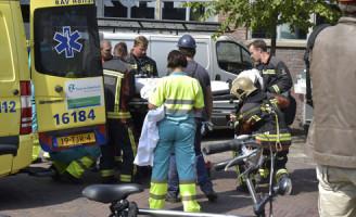 20 augustus Gewonde bij bedrijfsongeval 3e Binnenvestgracht Leiden