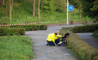 19 april Fietser raakt zwaargewond Bankastraat Den Haag