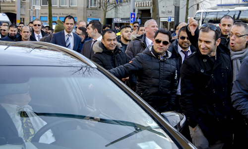 Boze taxichauffeurs eisen verbod op Uper-Pop155