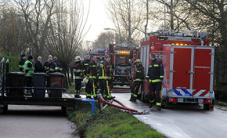 18 januari Grote brand in rietenkap Aarlanderveen