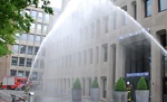 Ereteken voor omgekomen brandweerlieden