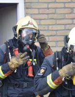 17 november Brand in woning Prinses Irenestraat Koudekerk