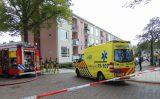 8 augustus Flinke rookontwikkeling in kelder van portiek na brand Lijsterbeslaan Delft  [VIDEO]