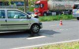 21 september Flinke schade en verkeerschaos bij kop-staart botsing Prinses Beatrixlaan Delft