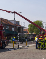 5 mei Zeer Grote brand Molenweg Monster