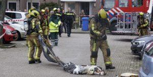 [UPDATE] 5 april Woningen ontruimd na brand in woning Venezuelastraat Delft