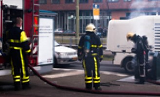 Containerbrand Wateringseveld