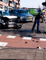 Flinke schade na aanrijding Laan van Wateringseveld