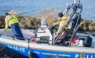 Zoektocht naar vermiste vrouw met sonar