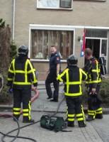 Korte uitslaande brand op de Klipper in Barendrecht