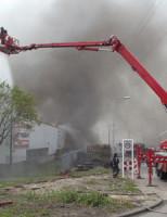 11 juni Zeer grote brand bij meubelzaak Brielle