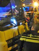 3 februari Fietser zwaargewond na aanrijding met vrachtwagen Vaillantlaan Den Haag