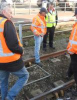15 februari Tramverkeer volledig ontregeld door ontspoorde tram Hoefkade Den Haag