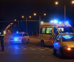 20 februari Aanrijding tussen een fietser en personenauto Veluweplein Den Haag