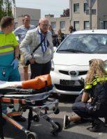 16 mei Gewonde bij aanrijding tussen fietser en personenauto Juweellaan Zoetermeer
