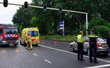 24 mei Ongeval met meerdere voertuigen zorgt voor verkeersopstopping Afrikaweg Zoetermeer