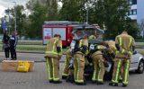 18 oktober Brandweer sluit tankstation af na gaslek in auto Houtsingel Zoetermeer
