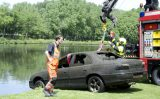 23 mei Gestolen auto aangetroffen in water recreatiegebied Madestein Den Haag