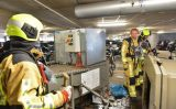 28 juni Container in brand in garage Rontgenlaan in Zoetermeer