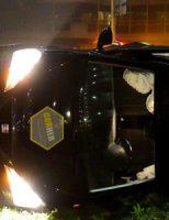 21 december Auto op z'n kant na aanrijding met auto Meerzichtlaan Zoetermeer