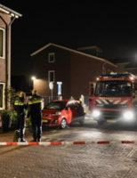 4 april Vier auto's in brand gevlogen Neogotiekhof Nootdorp