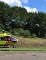 3 september Rendez vous tussen ambulancedienst en traumahelikopter A12 Zoetermeer