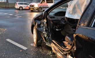 22 februari Ongeval tussen twee voertuigen Prismalaan Oost Bleiswijk
