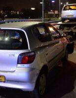 26 december Auto's flink beschadigd na aanrijding Afrikaweg Zoetermeer