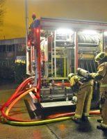 4 december Zeer grote brand bij afvalverwerker Renewi Radonstraat Zoetermeer