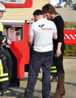 16 maart Brandweer rukt uit voor een dier in de problemen Baron de Coubertinlaan Zoetermeer