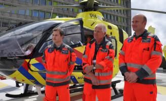 27 juni Opening helikopterdek HagaZiekenhuis