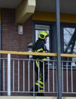 26 december 'Middelbrand' in woning Timmermanshove Zoetermeer