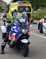 4 oktober Twee gewonden bij aanrijding tussen motorrijder en fietser Schoolstraat Zoetermeer