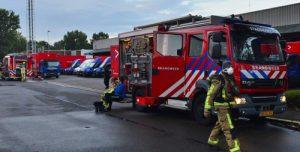 25 juli Flinke brand in een bedrijfspand Storkstraat Zoetermeer