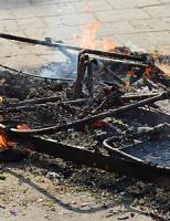 14 augustus Kleine buitenbrand aan de Vlaardingerdijk