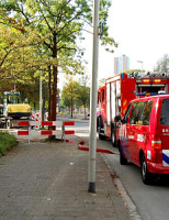 8 oktober Woningen ontruimd na gaslek Endenhout Hoogvliet